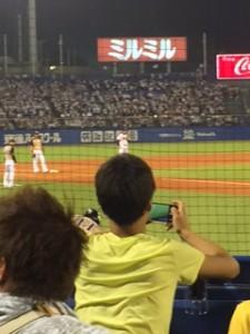 野球観戦6