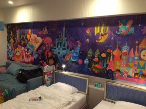 ディズニーホテル 部屋